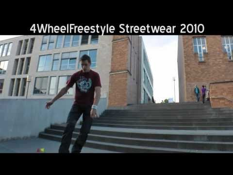 Streetwear: Inline Freestyle Slalom Skating 2010 by 4WheelFreestye