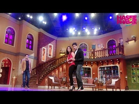 Hasee Toh Phasee stars on the sets of Comdey Nights with Kapil - 1
