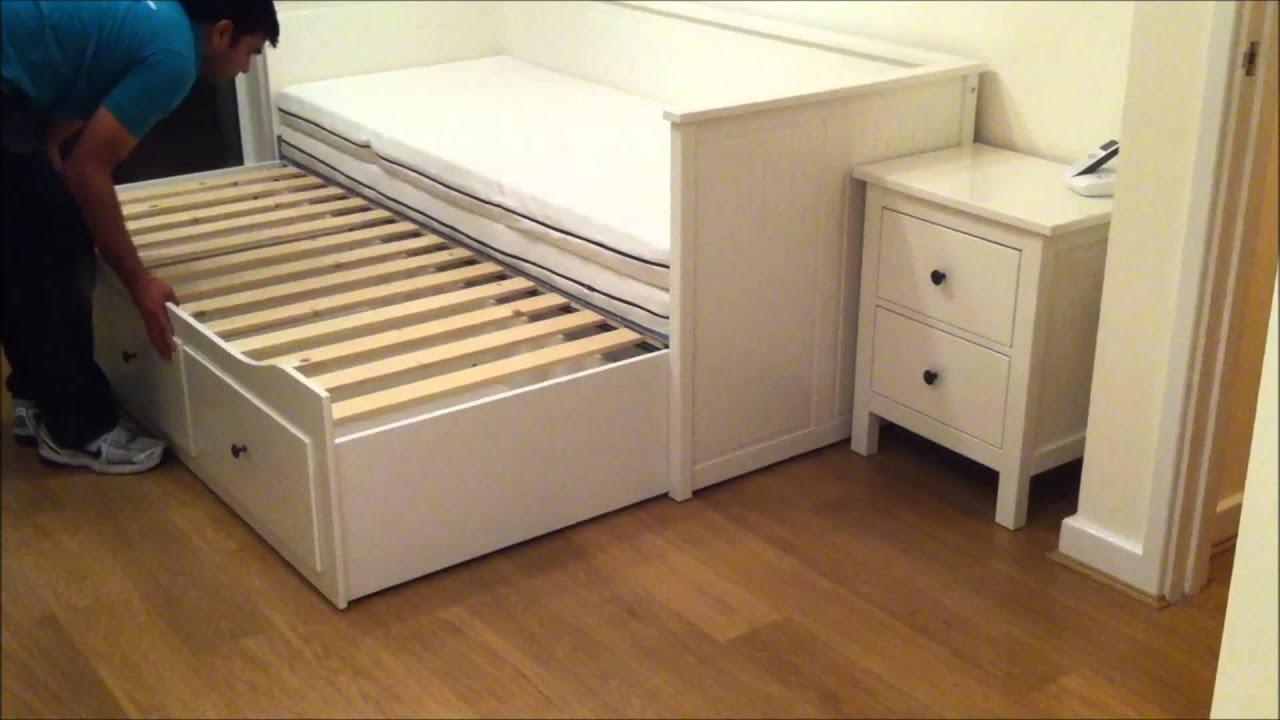 Ikea Hemnes Day Bed Trundle Guest Bed Stolmen Storage