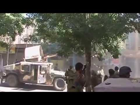 Pakistan-Punjabi ISI Militants Attack on Indian Consulate in Herat Afghanistan