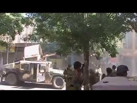 Pakistan-Punjabi ISI Militants Attack on Indian Consulate in Herat Afghanistan