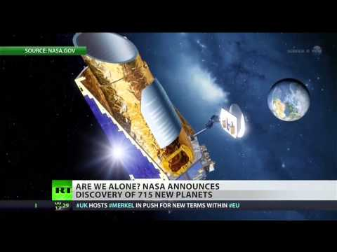 NASA discovers 715 new planets, some in habitable zone