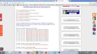 V�deo An�lise do crit�rio adotado no concurso 1033 da lotofacil que ocorreu dia 21/03/2014