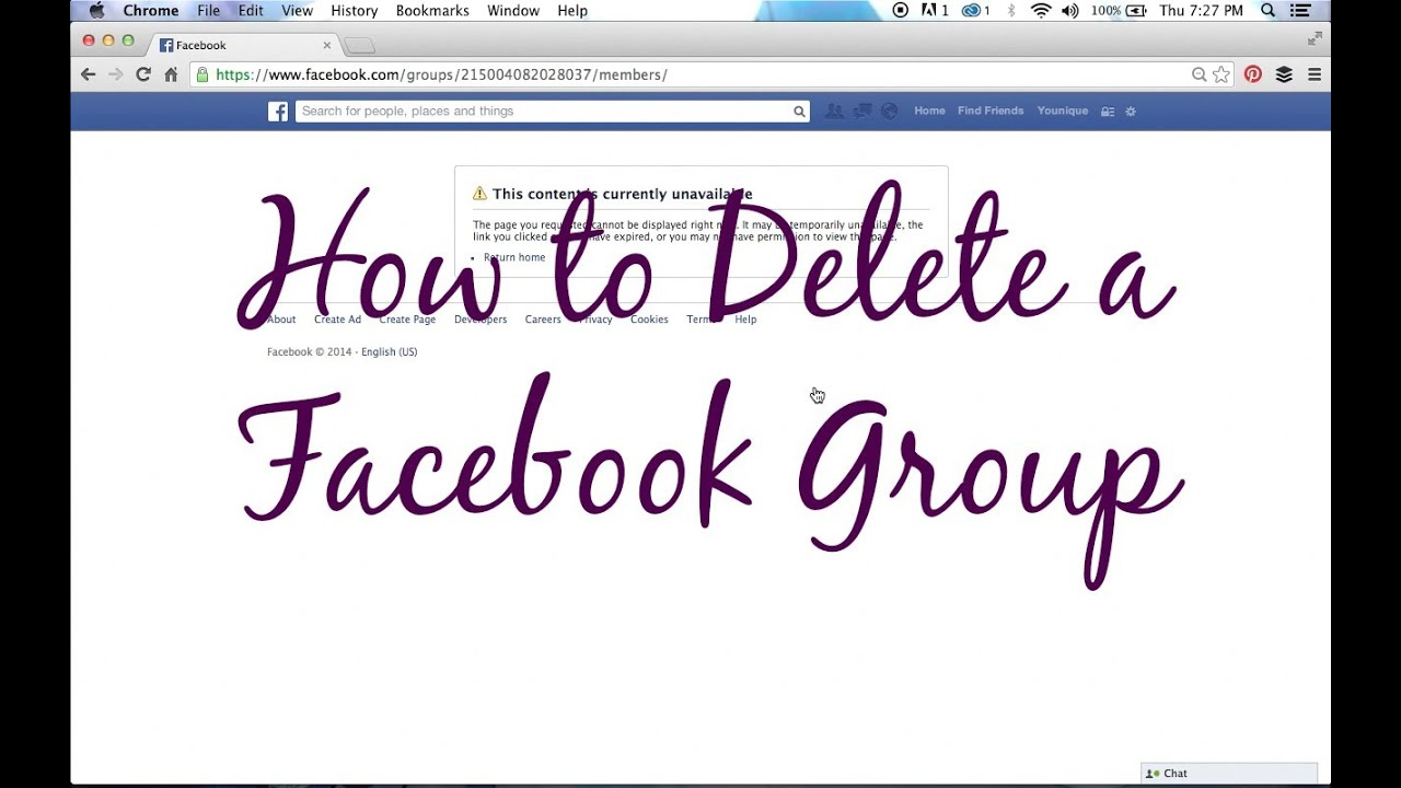 how to delete younique account