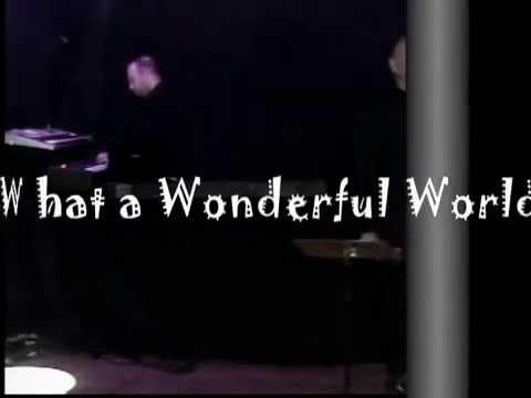 Ronaldo Gobbis  Veroneze Almada ao vivo Louis Armstrong   What a Wonderful World
