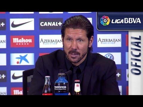 Rueda de Prensa de Simeone tras el Atlético de Madrid (1-1) Sevilla FC - HD