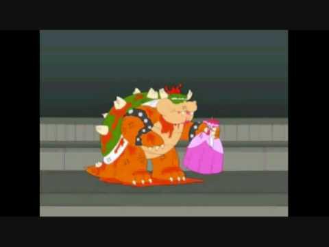 bowser eats peach