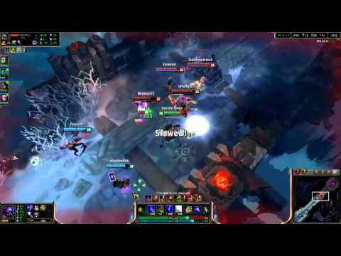 Varus post-mortem pentakill - League of Legends gameplay