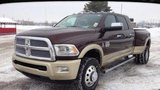 2014 Ram 3500 Laramie Longhorn Mega Cab MacIver Dodge