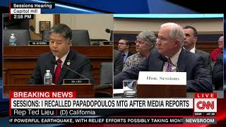 Sessions Confronts Dem Rep Who Accused Him of Lying