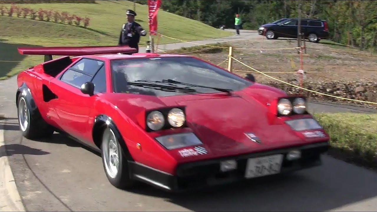 【スーパーカー・ミーティング2013 In 山形】ランボルギーニ・カウンタックlp500s・ウォルターウルフ Pt