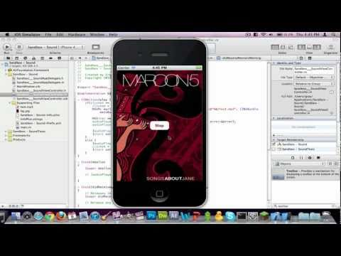 Xcode 4 Tutorial: Play Sound File (Beginner-Friendly)