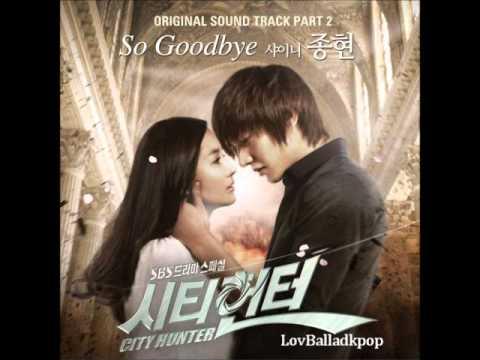 シティーハンター OST Part 2 / 01. So Goodbye - ジョンヒョン (SHINee)