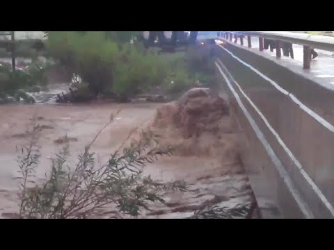 RAW VIDEO: Hohokam and Calle Sonora in Nogales