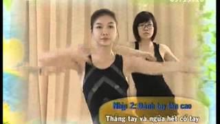 Aerobic duong sinh - VTV2 - The duc buoi sang