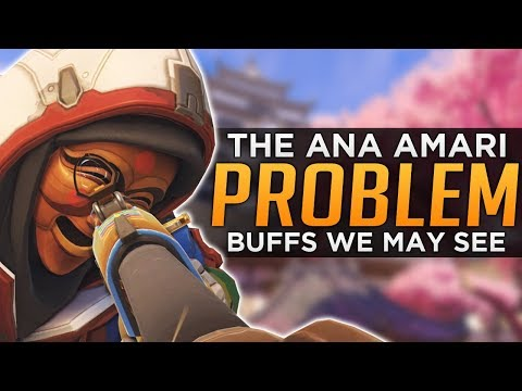 Overwatch: The Ana PROBLEM! - Buffs We May See!