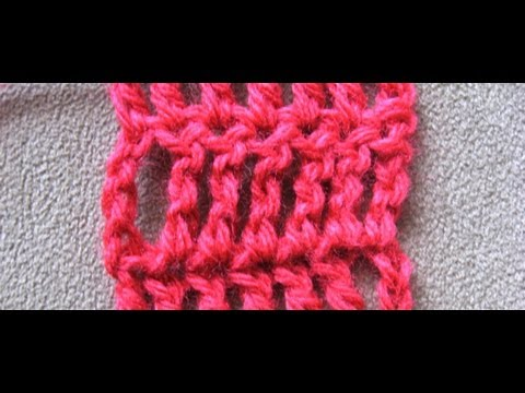 Double Treble Crochet Stitch (dtr) by Crochet Hooks You - YouTube
