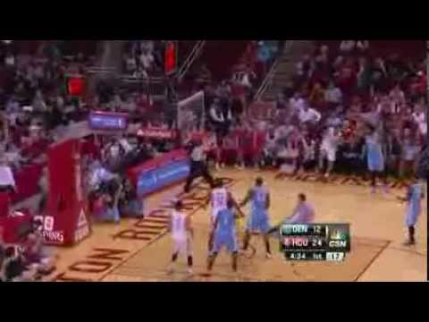 NBA Denver Nuggets Vs Houston Rockets Game Highlights | 11/16/2013