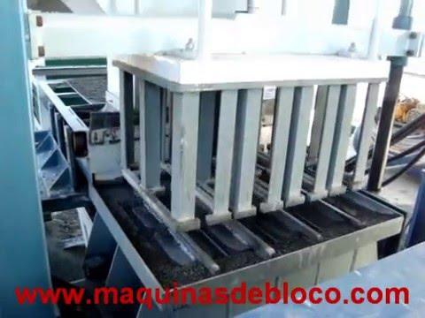Máquina para fazer blocos Casa Maciel - CMH6