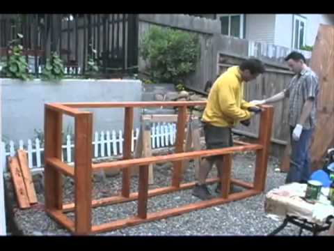 how to build a tiki bar youtube. Black Bedroom Furniture Sets. Home Design Ideas