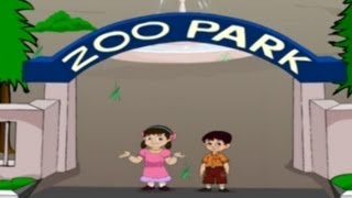 English Rhymes Zoo Kids Pre/Play School Telugu
