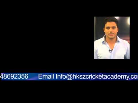 HKSZ And Saeed Ajmal International Cricket Aacademy Launch Azhar Ali 15 Sec
