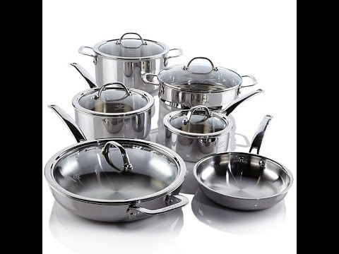 Lenox 11piece TriPly Stainless Steel Cookware Set