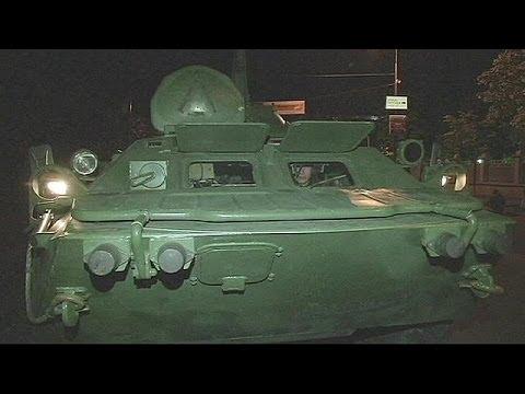 Ucraina. Esercitazioni nella notte a Kiev