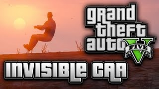 GTA 5 Invisible Car Glitch Tutorial! (How To Do Glitches