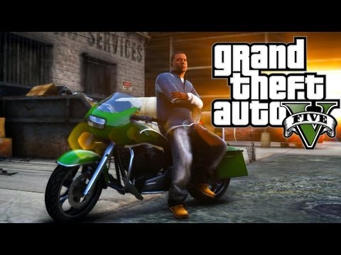 Grand Theft Auto V - Franklin | EMPLOYEE OF THE MONTH | PS3 HD Gameplay