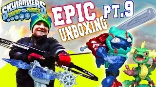 Arkeyan Crossbow Epic Unboxing Surprise (Skylanders Swap