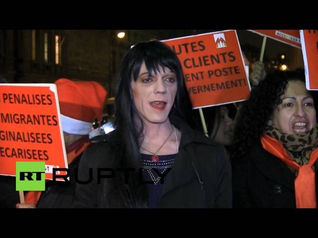 Non 'John'! Prostitutes protest bill penalizing clients in France