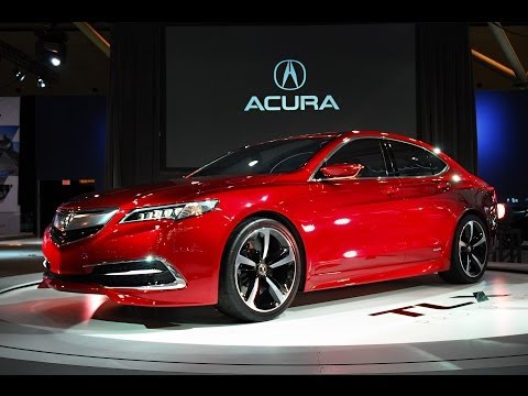 2015 Acura TLX Video (previously Acura TL) - First Look at Design and Performance