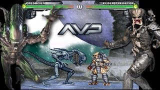 Alien Vs Predator M.U.G.E.N 2013 Updated (Download) AVP