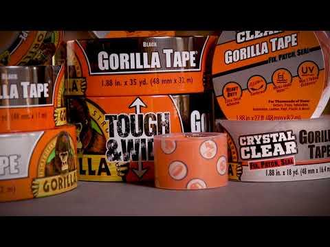 Gorilla Silver Tape