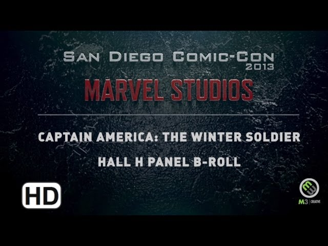 Captain America: The Winter Soldier - Hall H B-Roll Comic-Con 2013