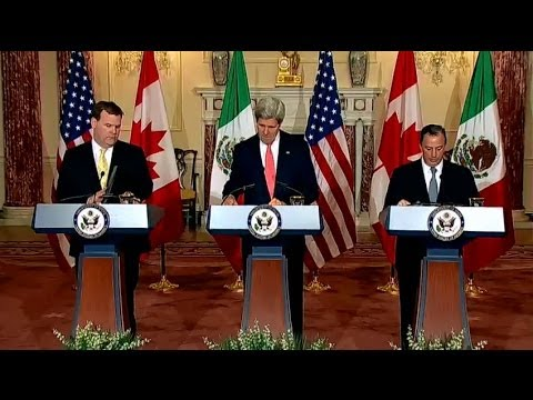 Secretary Kerry Delivers Remarks With Foreign Minister Baird and Foreign Secretary Meade