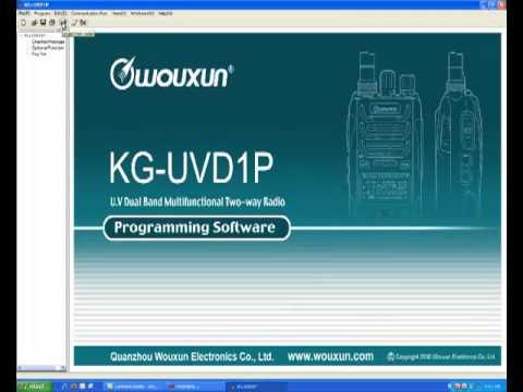 Programming Wouxun KG-UV2d