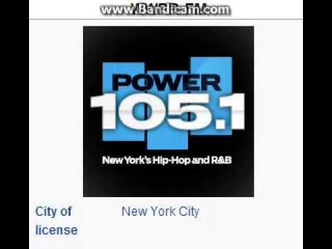 WWPR-FM Power 105.1 New York, NY TOTH ID at 8:00 p.m. 7/18/2014