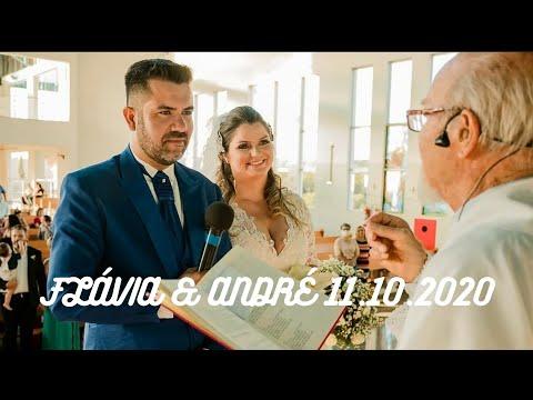 Matrimônio Flávia e André | 11.10.2020 | Padre José Sometti | ANSPAZ