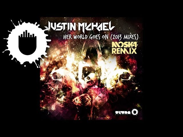 Justin Michael - Her World Goes On (Moska Remix) (Cover Art)