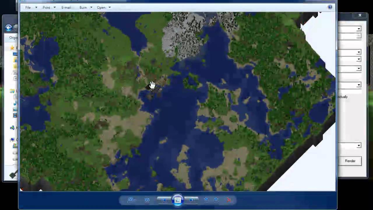 Minecraft How to map of your minecraft world Using Cartograph G YouTube