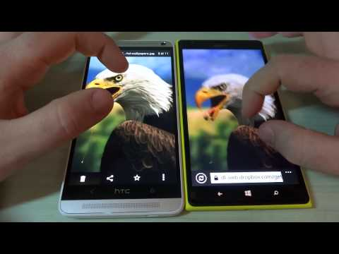 Video confronto HTC One Max vs Nokia Lumia 1520