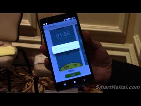Lenovo Vibe Z, S930, S650 and A859 Hands On - Android at CES 2014