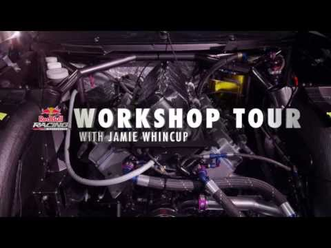 Red Bull Racing Australia Workshop Tour with Jamie Whincup