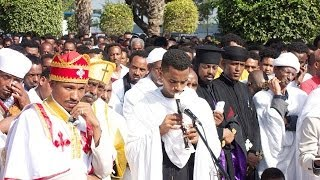 Memorial Ceremony For The Eritrean Asylum Seekers Drowned