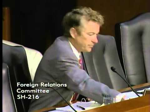 Sen. Paul Questions Sec. Kerry on ISIS Strategy- September 17, 2014