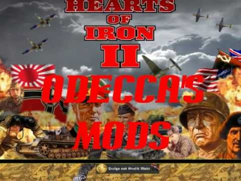 [Hearts of Iron] DMP Monument Map Mod by Odecca