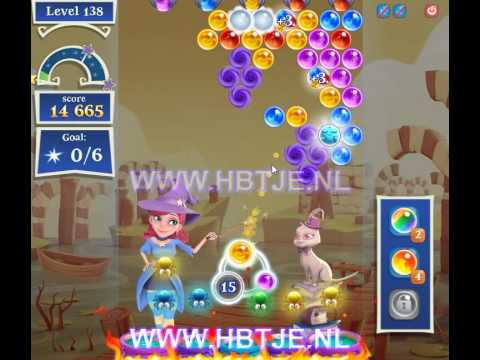 Bubble Witch Saga 2 level 138