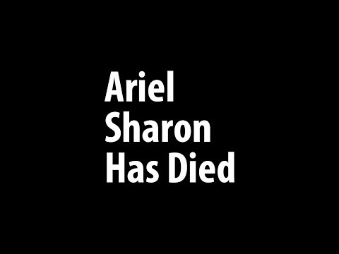 Ariel Sharon's death